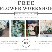 FREE FLOWER WORKSHOP